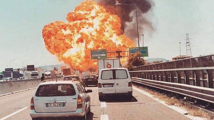 Obrovská explózia v Taliansku neďaleko letiska: Najmenej dvaja mŕtvi, desiatky zranených!