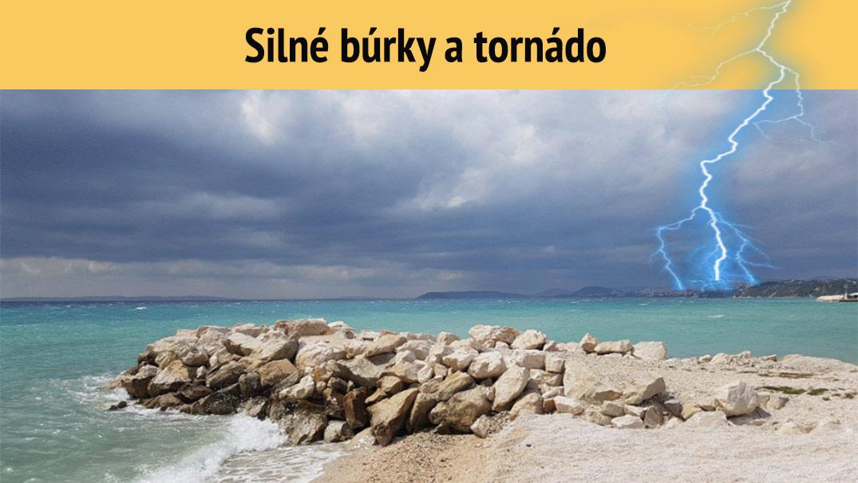 Chorvátsko zasiahlo mimoriadne nepriaznivé počasie: Silné búrky i tornádo!