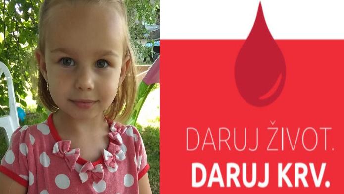 Pomôžte malej Leuške (4): Potrebuje súrne krv TEJTO vzácnej krvnej skupiny