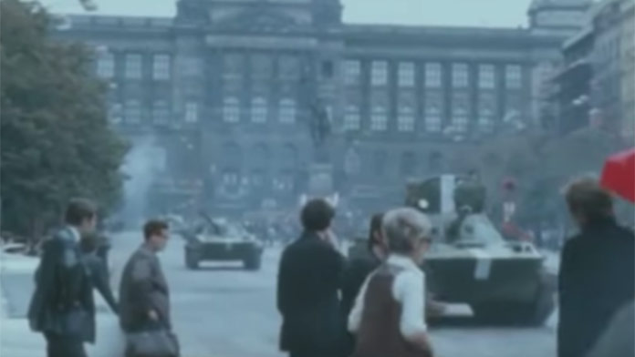 Mrazivé zábery z okupácie Československa: Takto to vyzeralo 21. augusta 1968