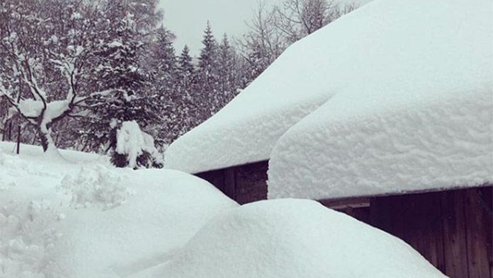 sneh, zima