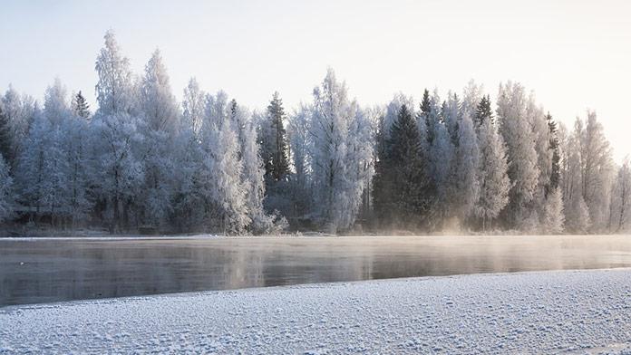 ľad, zima