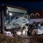 Tragická nehoda v Bratislave: Muž (†32) pri predbiehaní narazil do autobusu, neprežil ani jeho pes