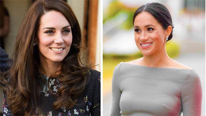 Kate a Meghan opäť spolu: Pozrite, ako sa vojvodkyne obliekli
