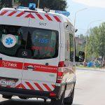Trojročné dieťa na odrážadle sa zrazilo s idúcim vozidlom