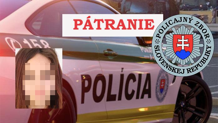Polícia hľadá 15-ročnú Kristínu: Nezvestná je už od minulého týždňa
