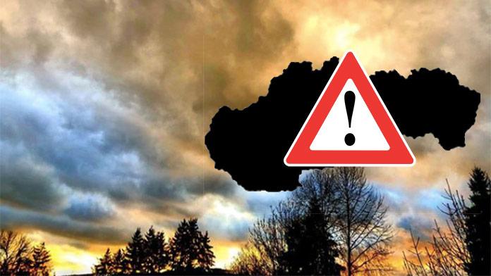 Platia výstrahy pred vetrom: Pozor v týchto oblastiach