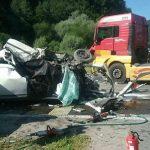 Tragická bilancia nehody na výjazde D1: Jeden mŕtvy a traja zranení